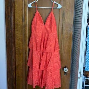 Lulus Tiered Midi Dress